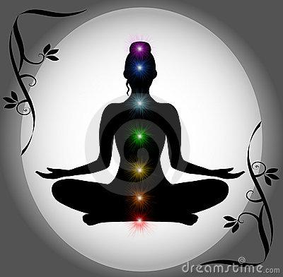 silueta-de-la-meditaci-oacuten-con-las-puntas-de-chakra-thumb15272317